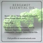 bergamot essential oil profile