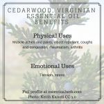 virginian cedarwood oil uses and benefits