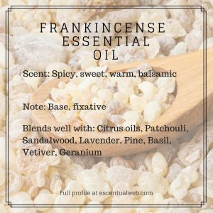 Frankincense Essential Oil Profile