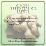 Ginger Essential Oil Safety