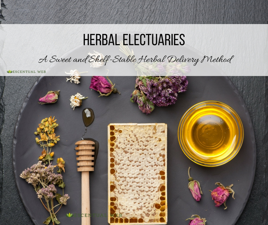 How to make and use an herbal electuary