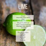 Lime essential oil profile