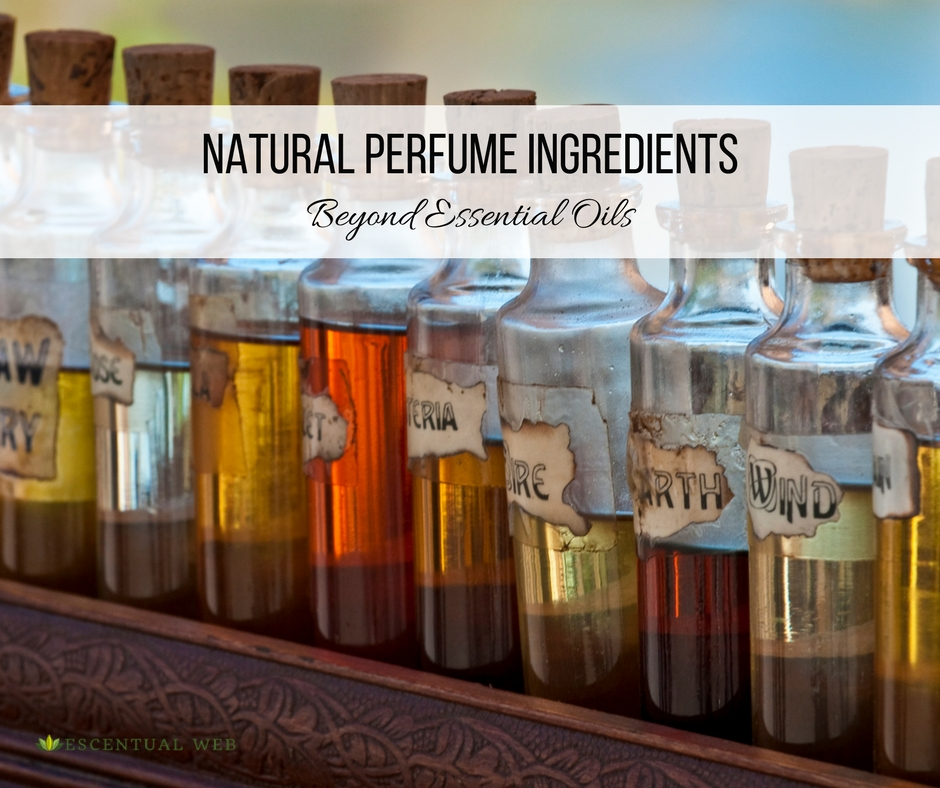 Natural Perfume Ingredients--What are the options besides essential oils?