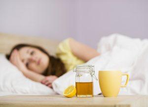 Honey for sore throats