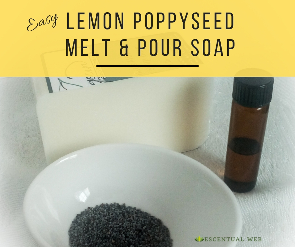 poppyseed, lemon oil, soap base