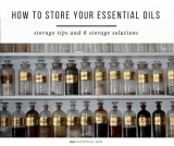 6 Ways to Store Your Essential Oils