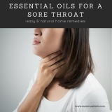 Essential Oils for a Sore Throat