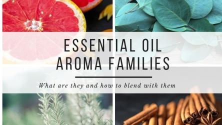8 Essential Oil Aroma Families