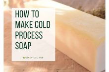 Making Cold Process Soap – Basic Instructions