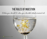 The Rules of Ingestion: When you should and when you shouldn't
