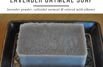Lavender Oatmeal Cold Process Soap
