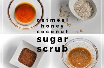 Oatmeal Honey Sugar Scrub